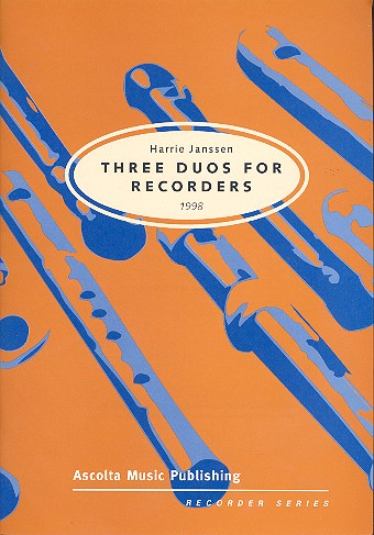 3 Duos: for recorders score