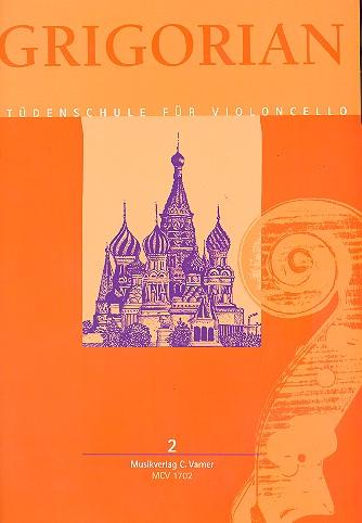 Grigorian, David - Etüdenschule Band 2 : für Violoncello