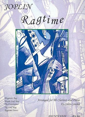 Ragtime: for clarinet and piano