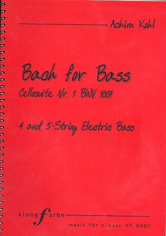 Suite Nr.1 BWV1007: für E-Bass