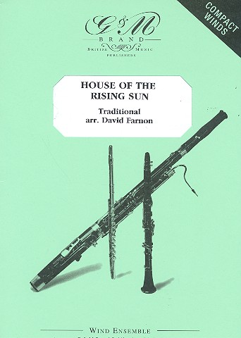House of the rising Sun: for wind ensemble score and parts