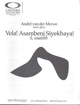 Vela Asabeni Siyekhaya für gem Chor a cappella
