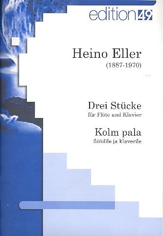 3 Stücke: für Flöte und Klavier