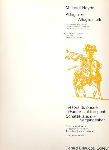 Adagio und Allegro : für Horn, Posaune und Klavier