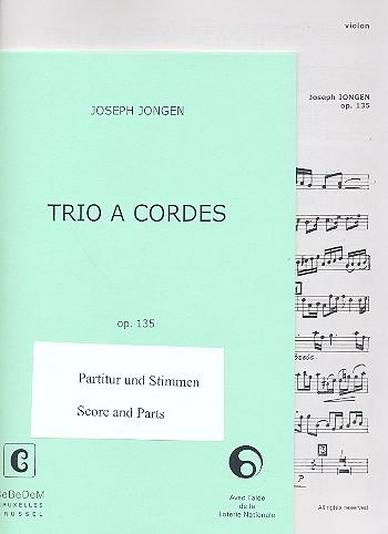 Trio opus.135: für Violine, Viola und Violoncello