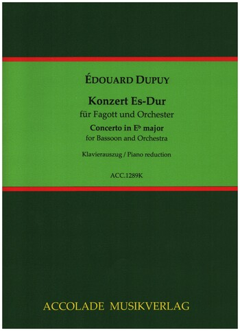 Dupuy, Édouard - Konzert Es-Dur Fagott und Orchester :