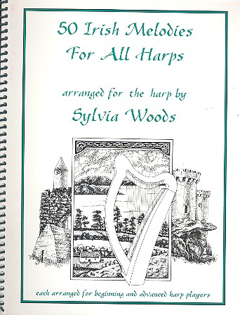 50 Irish Melodies: for harp
