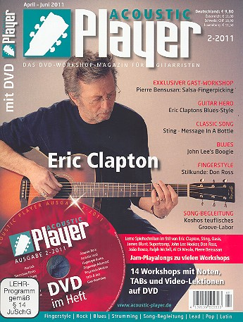 Acoustic Player 2/2011 (+DVD)