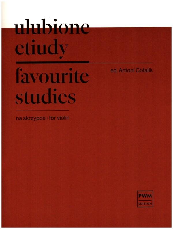 Favorite Studies: for violin