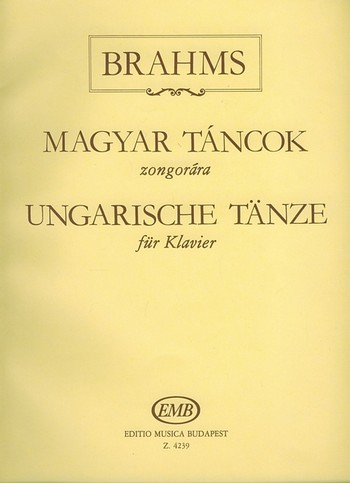 Ungarische Tänze: für Klavier