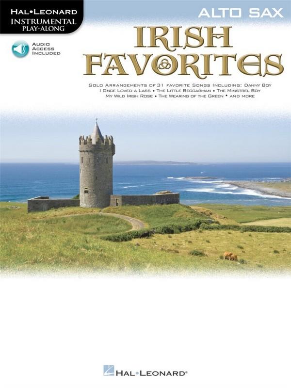 Irish Favorites (+CD): for alto saxophone