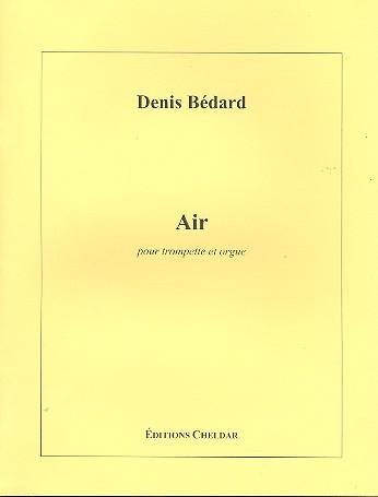 Air: pour trompette et orgue