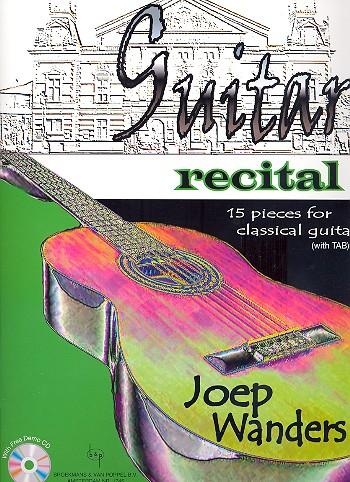 Wanders, Joep - Guitar Recital (+CD) :