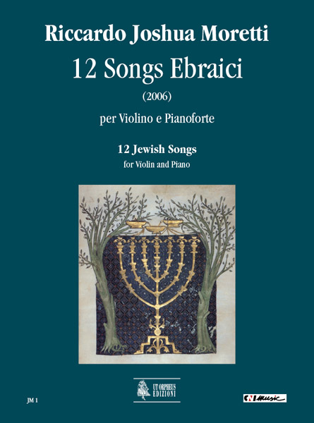 12 Jewish Songs: for violin and piano