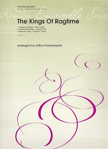 The Kings of Ragtime: für 3 Klarinetten und Bassklarinette