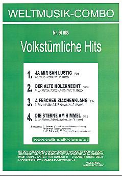 4 Volkstümliche Hits: für Combo Direktion und Stimmen