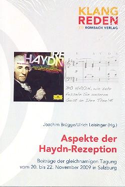 Aspekte der Haydn-Rezeption: Beiträge der gleichnamigen Tagung 2009