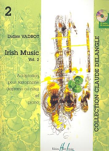 Irish Music vol.2: pour saxophone alto (soprano) et piano
