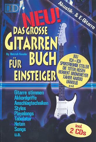 Das große Gitarrenbuch für Einsteiger (+ 2 CD\