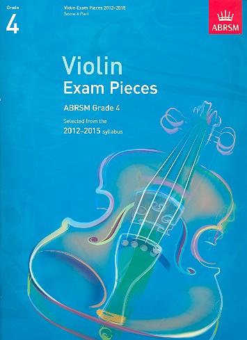 - Selected Violin Exam Pieces Grade 4