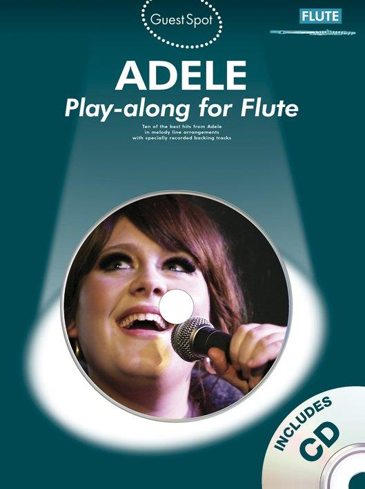 Adele (+CD): for flute guest spot playalong