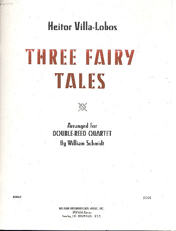 3 Fairy Tales: for 2 oboes, English horn and bassoon