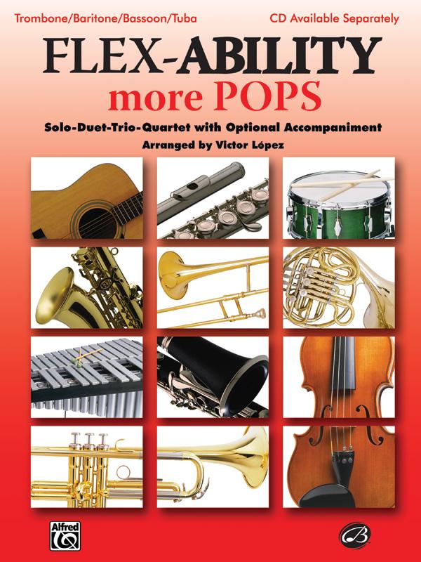 Flex-Ability more Pops: for 4 instruments trombone score