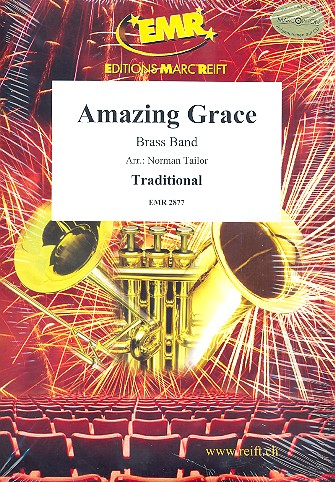 Amazing Grace: for brass band score and parts