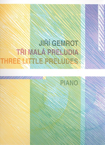 3 little Preludes: for piano