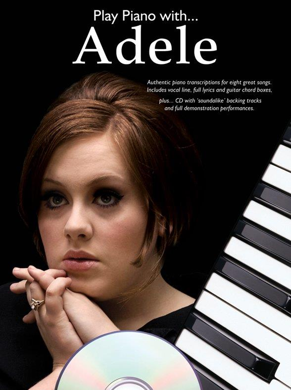 Adele (Blue Adkins, Adele Laurie) - Play Piano with Adele (+CD)