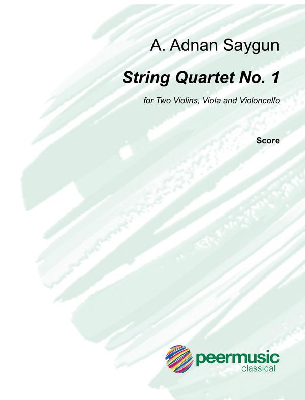 Saygun, A. Adnan - String Quartet no.1 op.27