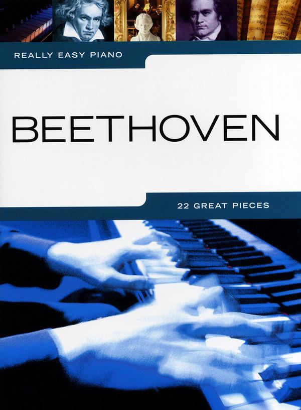 Beethoven, Ludwig van - Really easy piano : Beethoven