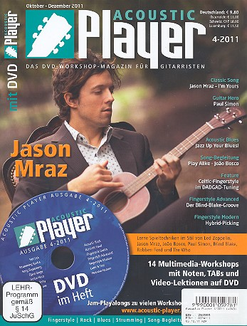 Acoustic Player 4/2011 (+DVD)
