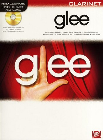 Glee (+CD): for clarinet Instrumental Play along