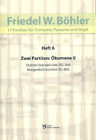 17 Partiten Band 6: für Trompete, Posaune und Orgel