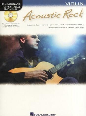 Acoustic Rock (+CD): for violin