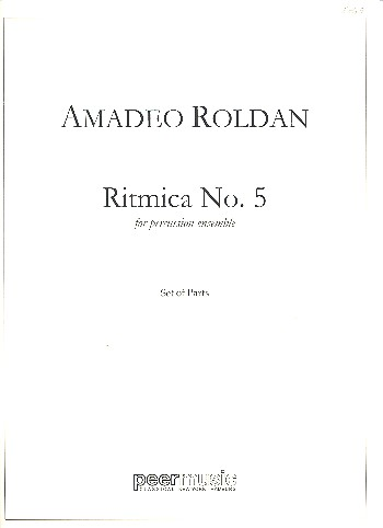 Ritmica no.5: for percussion ensemble