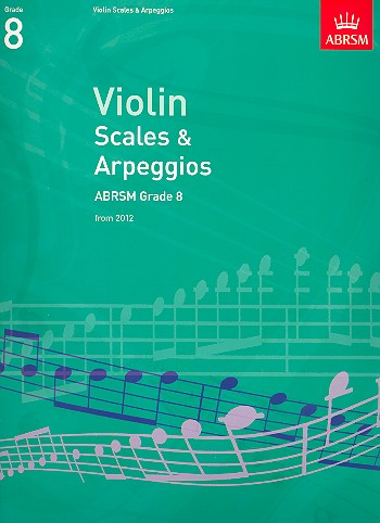 - Scales and Arpeggios Grade 8 (2012) :