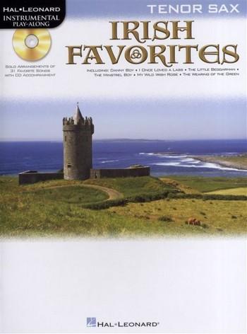 Irish Favorites (+CD): for tenor saxophone