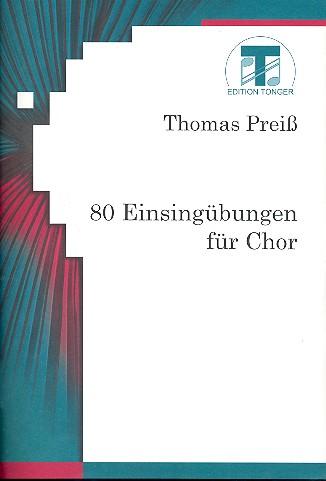80 Einsingübungen: für Chor
