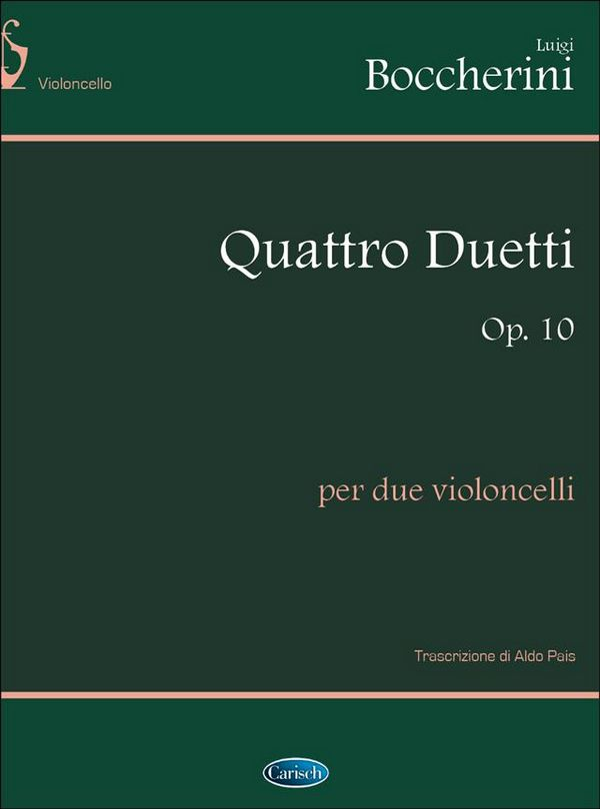 Boccherini, Luigi - 4 Duetti op.10 :