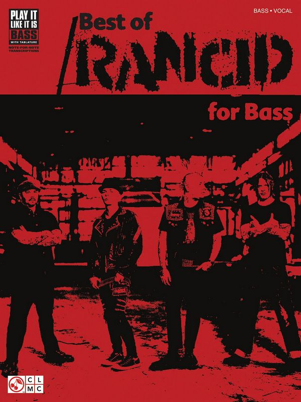 Best of Rancid songbook vocal/bass/tab