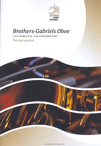 Brothers  and  Gabriels Oboe: für 4 Saxophone (SATBar)