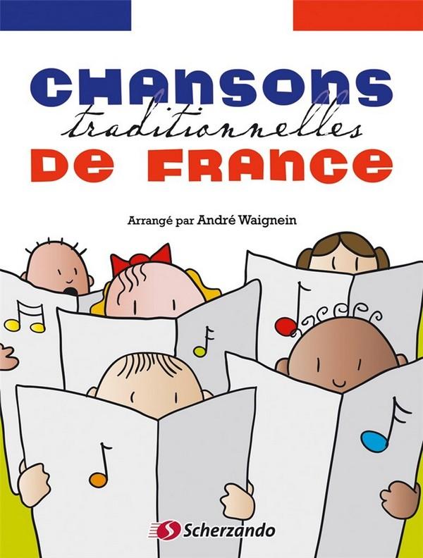 Chansons traditionelles de France (+CD): pour saxophone alto et piano