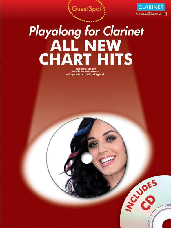 All new Chart Hits (+CD): for clarinet guest spot playalong