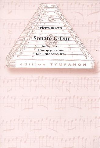 Sonate G-Dur: für Hackbrett und Cembalo