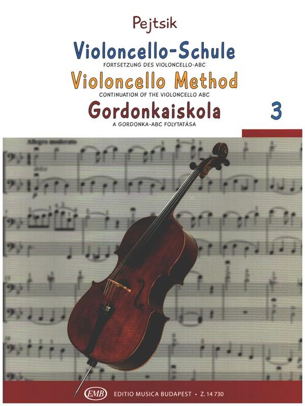 Pejtsik, Arpad - Violoncello-Schule Band 3