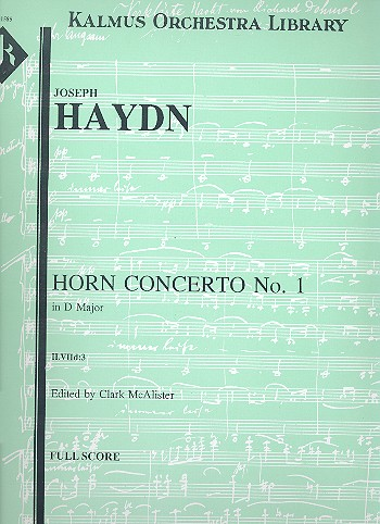 Concerto in D Major no.1 Hob.VIId:3: for horn and orchestra