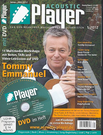 Acoustic Player 1/2012 (+DVD)