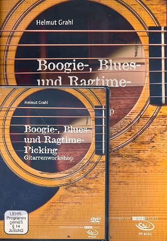 Boogie-, Blues und Ragtime-Picking (+DVD): für Gitarre/Tabulatur
